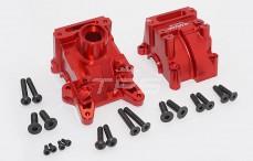 Area RC, Differentieel behuizing voor, (5B, 5T & MINI WRC), (Rood Aluminium), Set