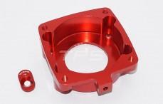 Area RC, motorflens Zenoah G320, (Rood aluminium), Set