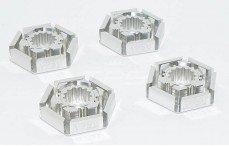 Area RC, Velg meenemer, (X-Maxx, TRX7756), (Zilver Aluminium), 4 st.