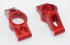Area RC, Fusee achter, (X-maxx, TRX7752), (Rood Aluminium), Set