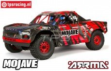 ARA106058T2 ARRMA 1/7 Mojave 6S BLX 4WD Rood/zwart RTR