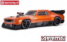 ARA7617V2T2 ARRMA FELONY 6S BLX 1/7 Muscle Car, Oranje