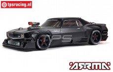 ARA7617V2T1 ARRMA FELONY 6S BLX 1/7 Muscle Car, Zwart