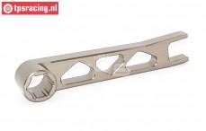 TPS5224GM Aluminium bougiesleutel Gun-Metal, 1 st.