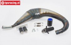 Booster Pipes, LOSI 5IVE-T zonder demping, Set
