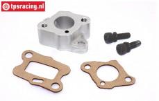 BWS50015 CNC aluminium isolator 32-38 cc, set