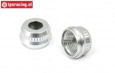 BWS51081 Aluminium Schokdemper sluiting onder BWS-LOSI, 2 st.