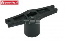 TPS9022 Kunststof Multi sleutel 24 mm zeskant, 1 st.