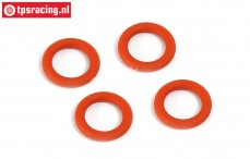 BWS53023 Differentieel Siliconen O-ring, 4 st