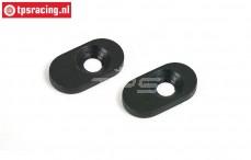 BWS55010 Stalen motor bevestiging, (BWS), 2 st.