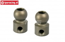 BWS55040 Aluminium Ø10-Ø5-H17 mm BWS-LOSI, 2 st.
