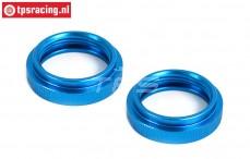 BWS55045B Schokdemper stelring Blauw 24 mm, 2 st.
