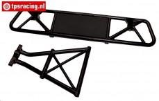 BWS59044/02 Bumper Achter met houder, (5T-BWS), Set