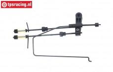 BWS69014 Gas-Rem stang compleet BWS 5B, Set