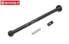 BWS69022 Aandrijf kogel as voor/midden/achter, (L130 mm, BWS 5B), set
