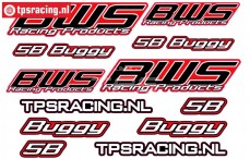 TPS19/090 BWS 5B Buggy Stickers, 1 st