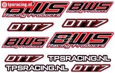BWS DTT-7 Stickers TPS, 1 st