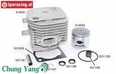CY0145 Cilinder CY 29cc-Ø36 mm, Set