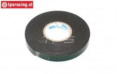 HQ Dubbelzijdig tape, B12 mm - L5 mtr, 1 st.