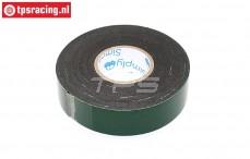 HQ Dubbelzijdig tape B25 mm - L5 mtr, 1 st.