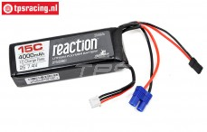 DYNB0501 2S LiPo accu Reaction 4000 mAh, 1 st.