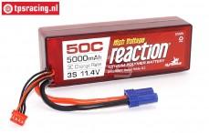 DYNB3856EC Li-Po Reaction accu, (5000 mAh, 11,4 Volt, 50C), 1 st.