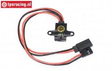TPS0594Z Micro Ontvanger schakelaar zwart, 1 st.