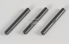 Kap steun afstandstuk, (Ø8-Ø3-L58 mm), (Kunststof), 3 st.