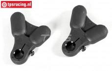 FG10035/01 Kunststof draag arm boven/onder F1, 2 St.