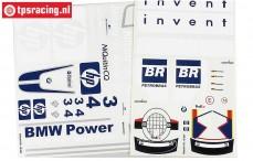 FG10267 Stickers F1 HPI Invent, Set
