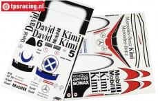 FG10268 Stickers F1 Mobil-Sonax, Set