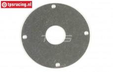 FG10530/03 RVS Koppeling plaat, 1 st.