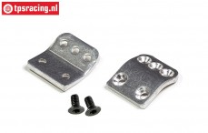 FG1056/08 Aluminium kap steun houder, 2 st.