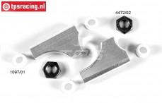 FG1074/05 Aluminium Draagarm achter boven kort, set