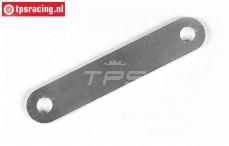 FG1113/01 Aluminium Accu houder L108 mm, 1 st.