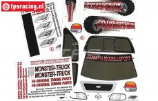 FG20155 Stickers FG Monster-Stadium-Street Truck, Set
