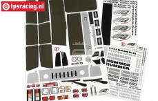 FG30155 Stickers Hummer H2, Set