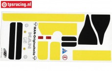 FG3076/01 Stickers MAN Truck, Set