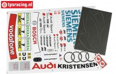 FG4153 Team Stickers Audi A4 Siemens, Set