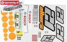 FG4156 Team Stickers Audi A4 Albers, Set