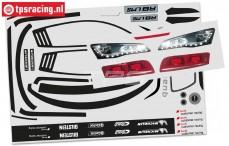 FG4173/01 Audi R8 LMS Stickers, Set