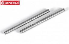 FG4512 Titanium Draagarm stift, (Ø6-L87 mm), 2 St.