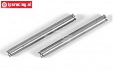FG4510 Titanium Draagarm stift, (Ø6-L63 mm), 2 St.