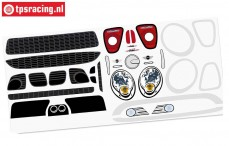FG5185/01 Stickers MINI Cooper, Set