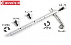 FG6045/01 Aluminium Rem as met hevel '97, Set
