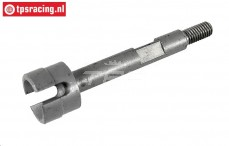 FG6079 Wiel as pen achter pen-aandrijving M6, 1 st.