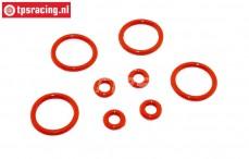 TPS6093 Schokdemper Siliconen O-ring, Set