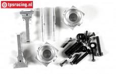 FG6103/05 Aluminium Stuurblokken voor 1/6, 2WD Set