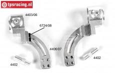 FG6103/06 Aluminium Stuurblokken voor 2WD, Set