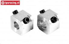 FG6107/01 Aluminium Wiel meenemers B14 mm, 2 St.